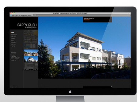 Barry Rush Associates Website