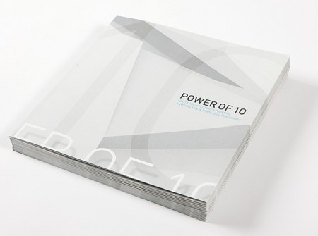 Customs House Power of 10 Brochure Cover