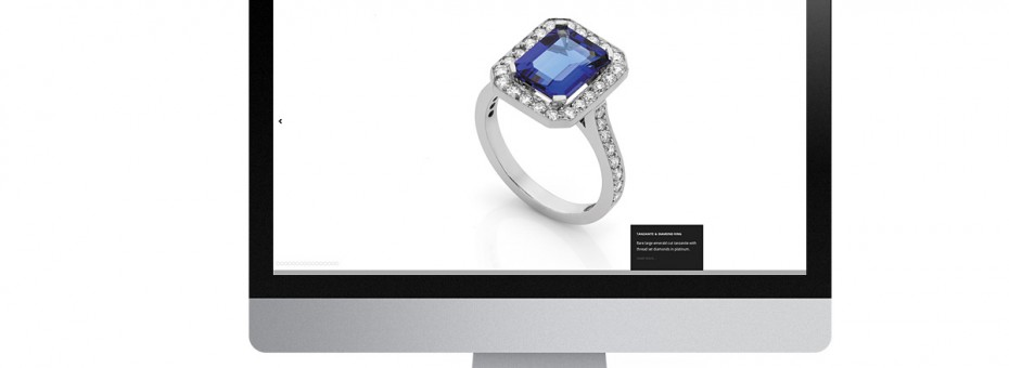 Saphire and Diamond Ring