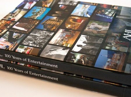 AHL 100 Years of Entertainment Book Cover