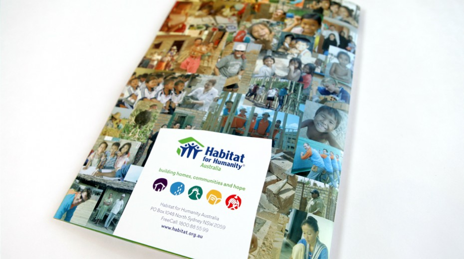 Habitat for Humanity Australia annual report back cover