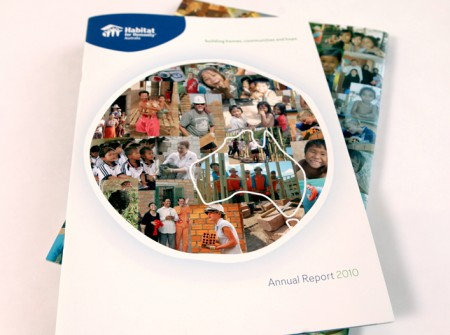 Habitat for Humanity Australia annual report cover