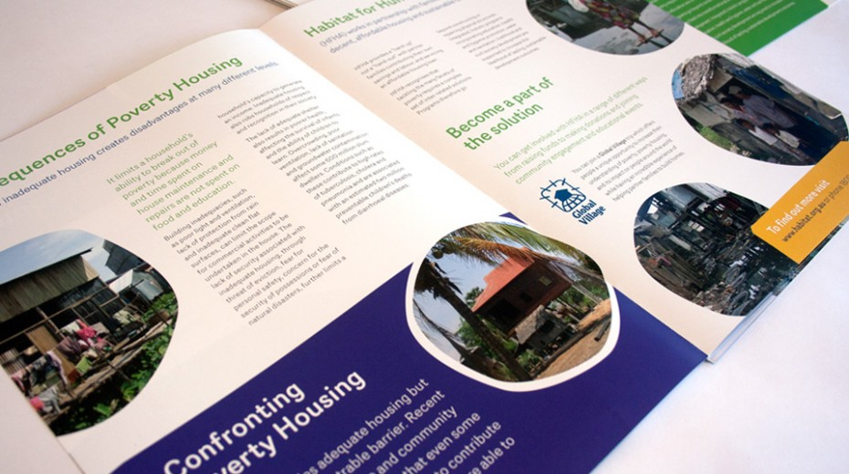 Habitat for Humanity Australia brochure