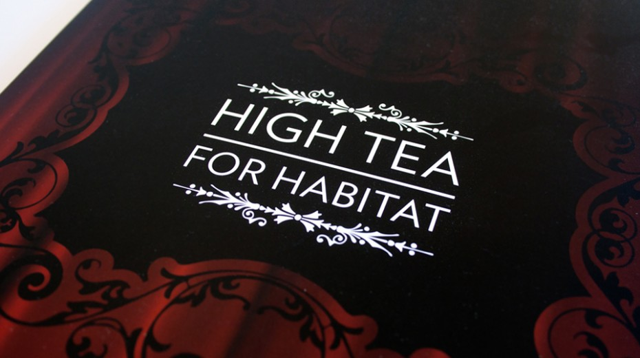 High Tea for Habitat