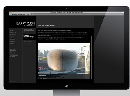 Barry Rush Associates Website news image