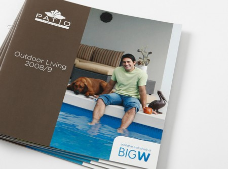 Patio/Big W catalogue cover
