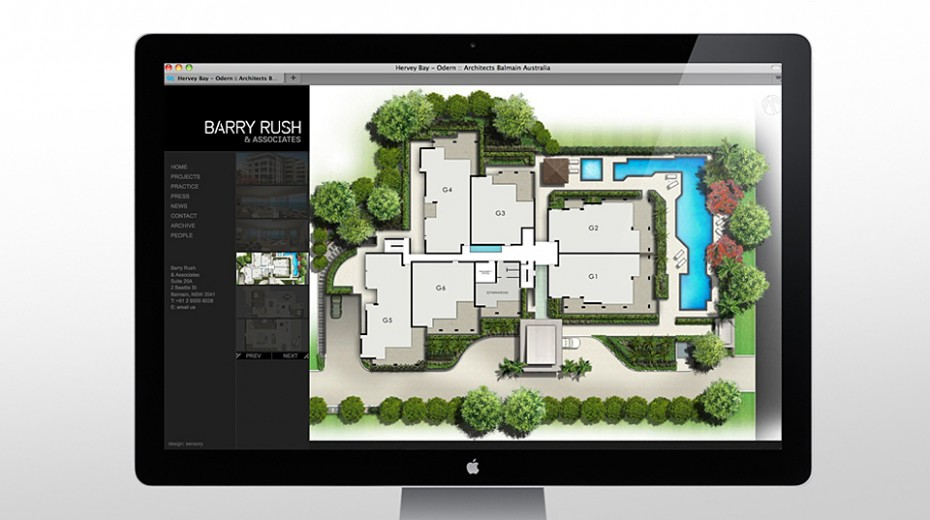 Project plan Barry Rush Associates Website