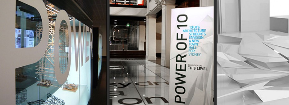 Power of 10 Exhibition Customs House Sydney