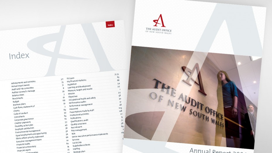 Audit Office of NSW Annual Report Cover