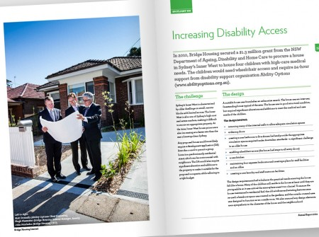 Bridge Housing Disability Access Spread
