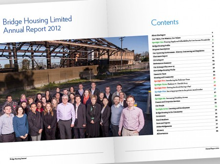 Bridge Housing Annual Report Contents