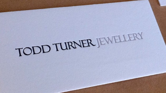 Todd Turner Business Cards