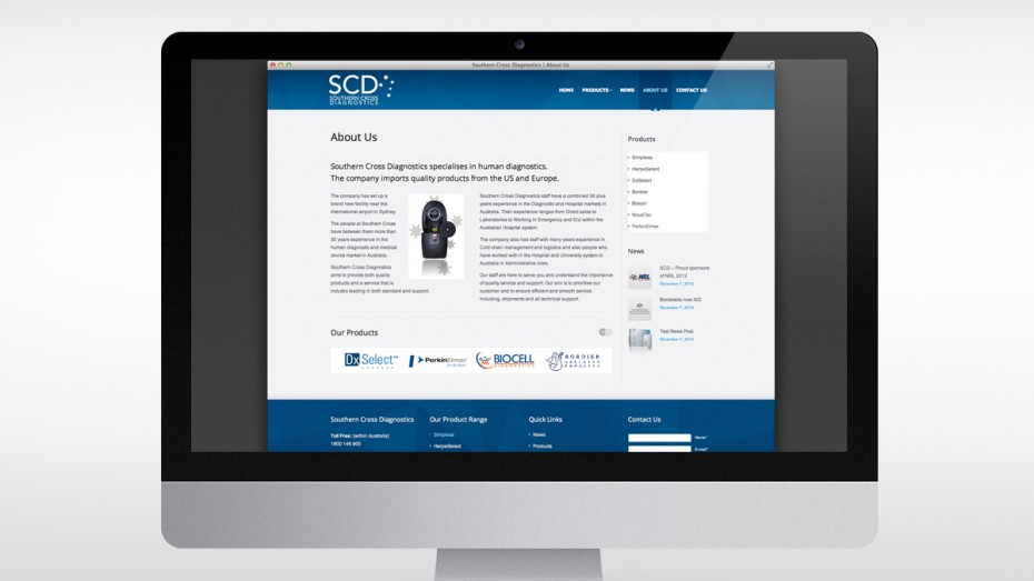 Southern Cross Diagnostics About Us Page