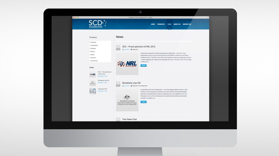 Southern Cross Diagnostics News Page