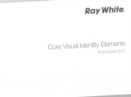 Ray White Visual Identity Guidelines - Cover