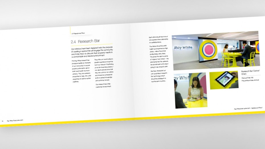 Ray White Visual Identity Guidelines - Research Bar