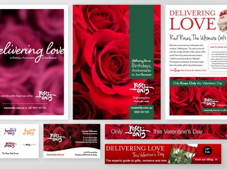 Print advertising, business cards and web/email banners